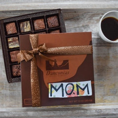 mothers day truffle brownies