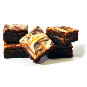 Cheesecake brownies that are the best chocolate dessert ever.