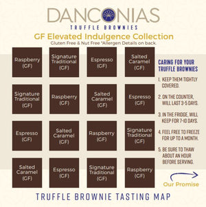Gluten Free Brownies Made in Colorado.