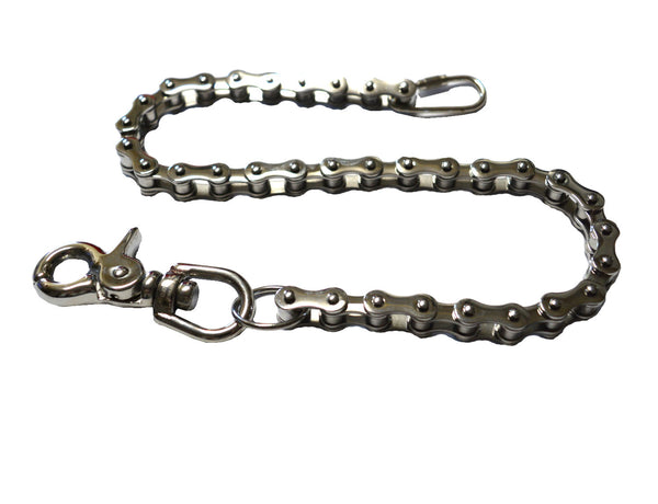 "SK1806 Wallet Chain Stainless Steel 19"" Bike Chain Style"