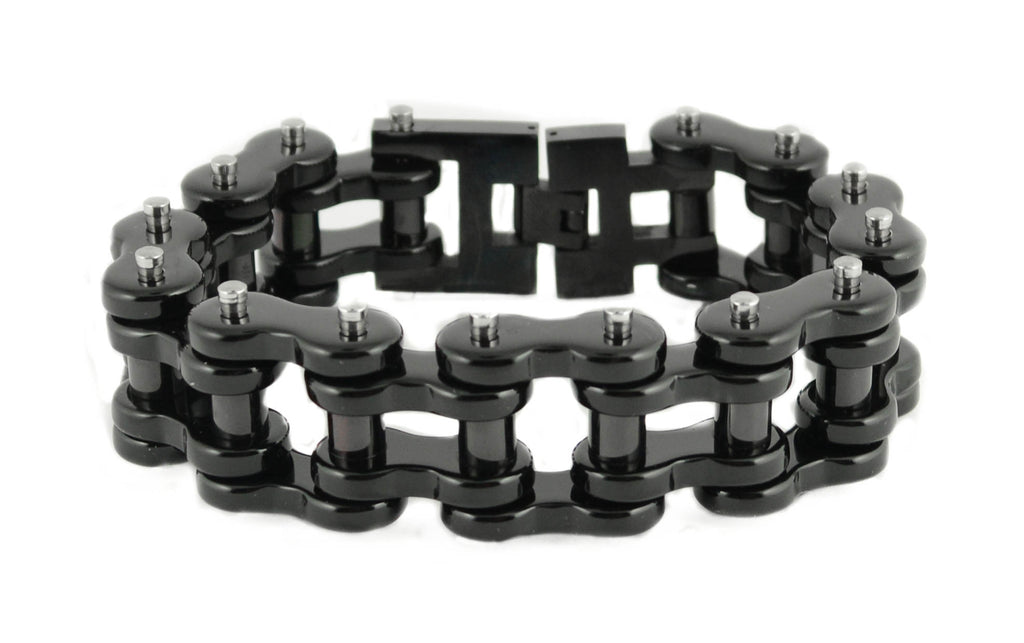 Men's Stainless Steel Motorcycle Chain Bracelet