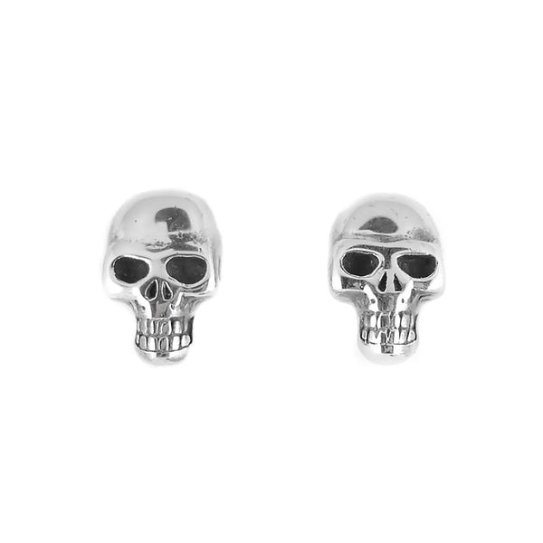 SK1632 Skull Earrings Stainless Steel Post & Nut