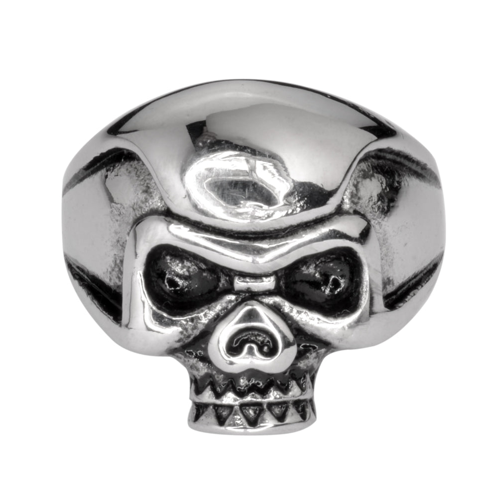 SK1013 Gents Punisher Skull Ring Stainless Steel Motorcycle Biker Jewelry