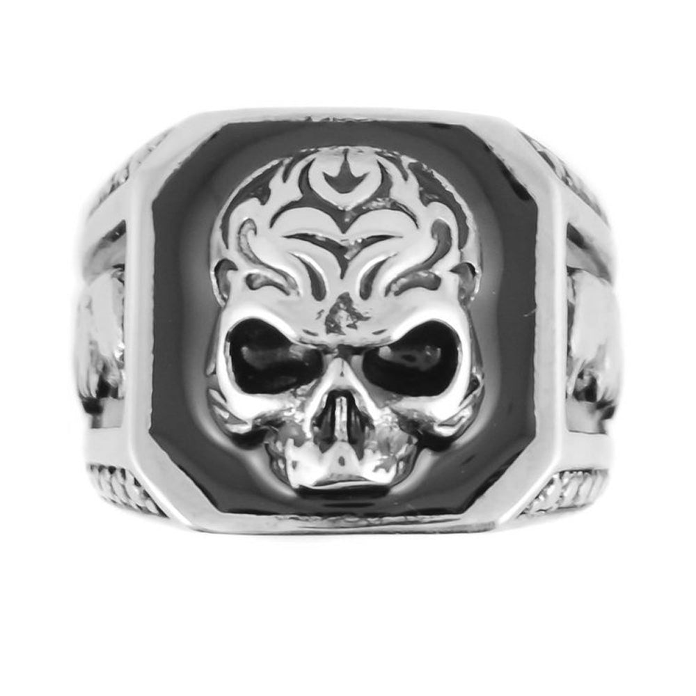 SK1024   Skull Eagle Ring Stainless Steel Sizes 9-15