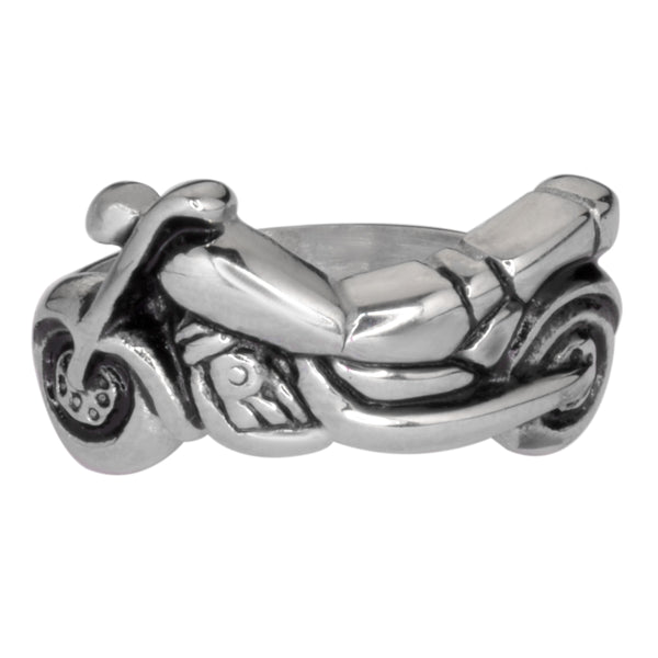 SK1051  Ladies Motorcycle Bike Ring Stainless Steel Motorcycle Jewelry  Size 5-10