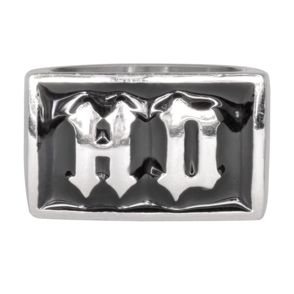 "SK1056 Gents HD Ring ""Heavy Duty"" Stainless Steel Motorcycle Jewelry"