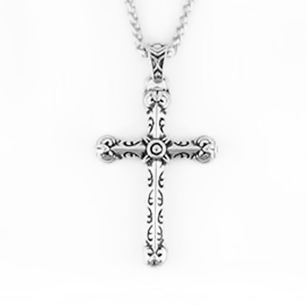 SK2273 Gents Tribal CrossåÊ Stainless Steel Christian Motorcycle Jewelry $45.00