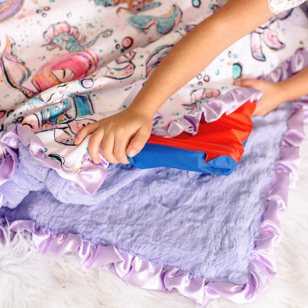 Helpful tips for our handmade Nap Mats and Nap Mat Cover Sets