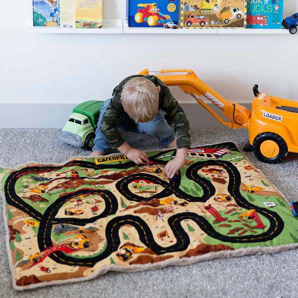 Construction Play Mat