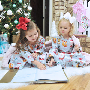 Girls Christmas Nightgown