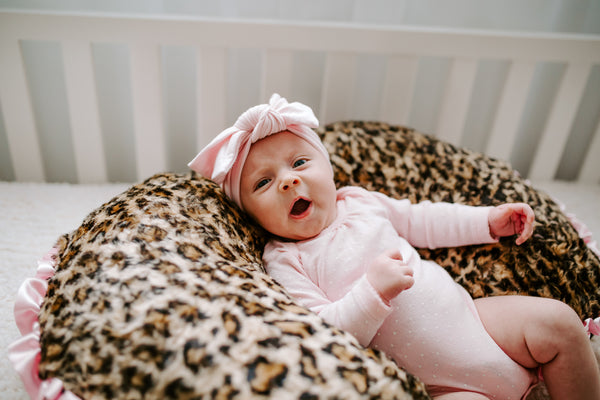 Leopard Minky Boppy Pillow Cover