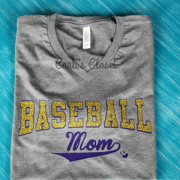 Baseball Mom T-Shirt - Carli's Closet