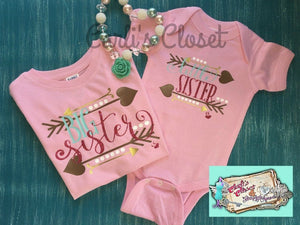 Matching Big Sister Little Sister Set