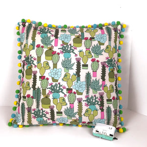 Cactus Throw Pillow - Carli's Closet