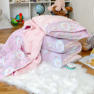 Bunny Princess Nap Mat Cover Set