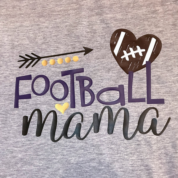 Football Mama T-Shirt - Carli's Closet