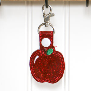 Apple Key Ring - Carli's Closet