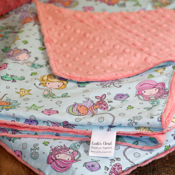 Mermaid Nap Mat for Kindermat - Carli's Closet