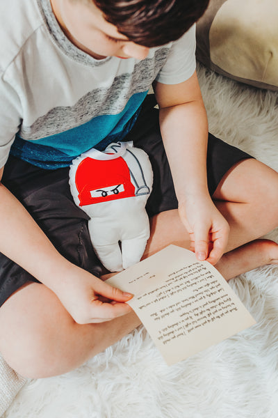 Ninja Tooth Fairy Pillow