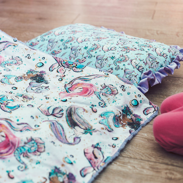 Narwhal Nap Mat Roll Up