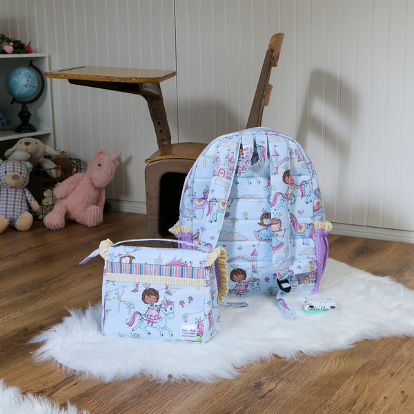 Unicorn Backpack and Lunchbox