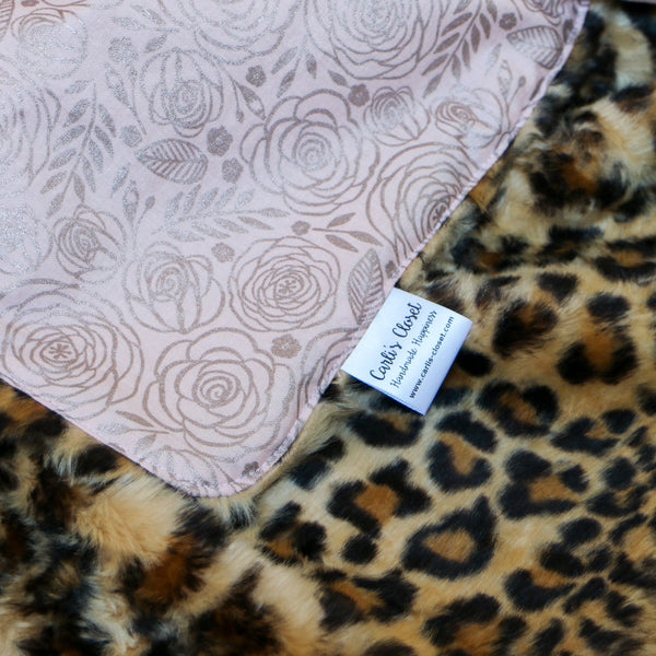 Animal Print Nap Mat Cover Set