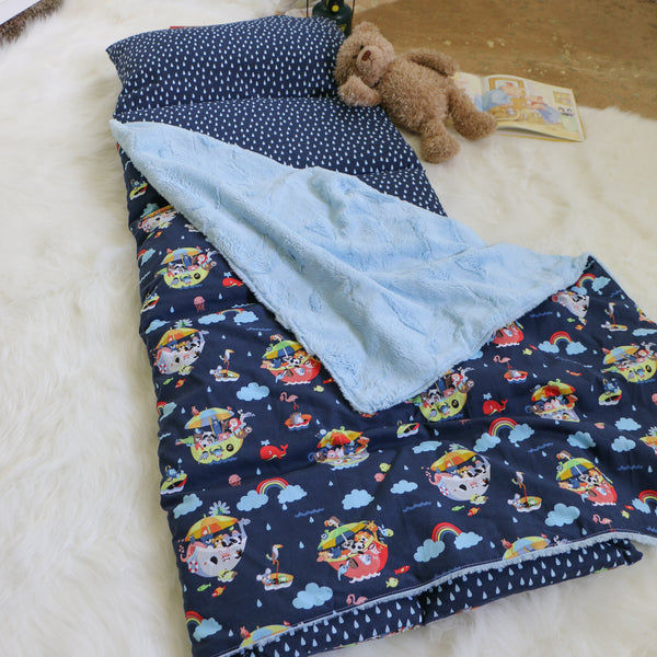 Noah's Ark Nap Mat Roll Up