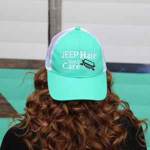 Trucker Hat JEEP Hair Don't Care
