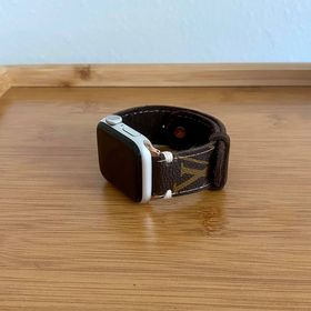 LV Inspired Apple Watch Band