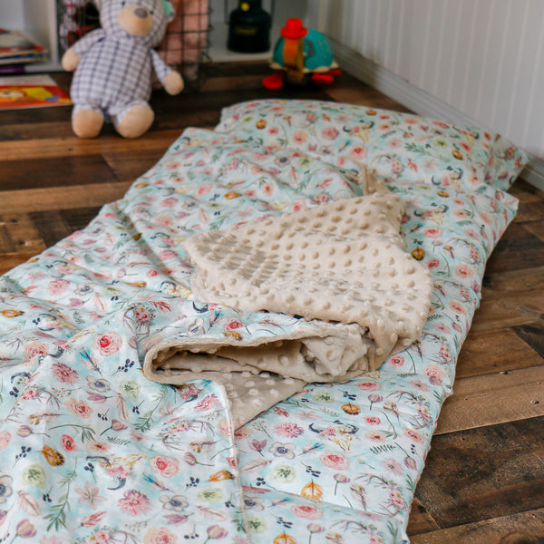 BoHo Cow Skull Nap Mat Roll Up - Carli's Closet