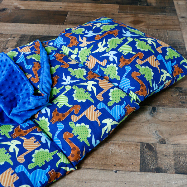 Dinosaur Nap Mat Roll Up - Carli's Closet