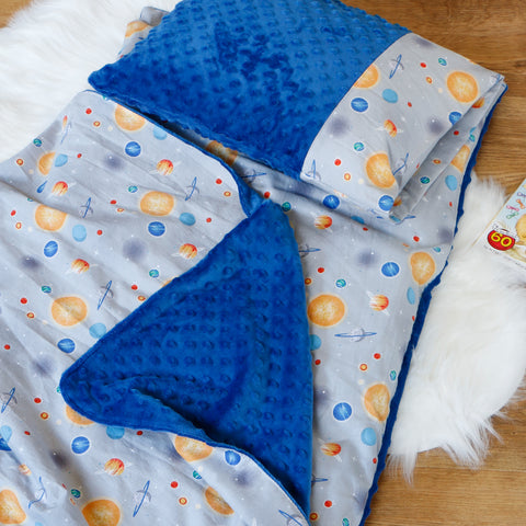 Planets nap mat cover set handmade by Carli's Closet