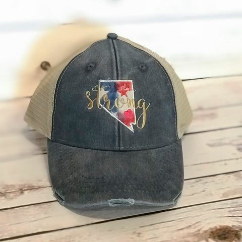 Nevada Strong Hat - Carli's Closet