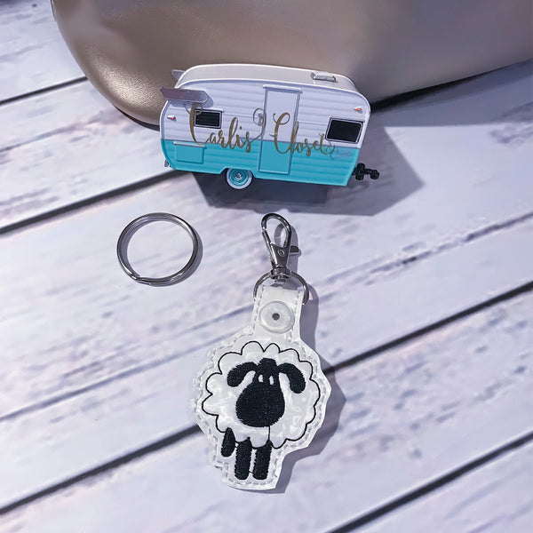 Sheep Key Ring - Carli's Closet