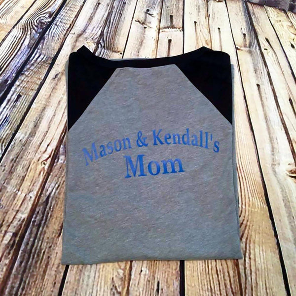 TeeBall Mom Raglan T-Shirt