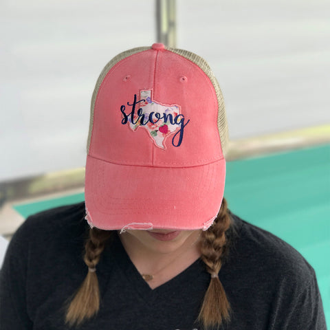 Texas Strong Hat - Carli's Closet