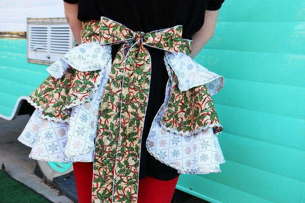 Women's Christmas Apron Most Wonderful - Carli's Closet