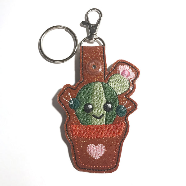 Cactus Key Ring