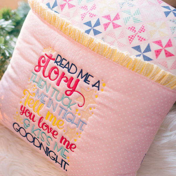 Read Me a Story Book Pillow
