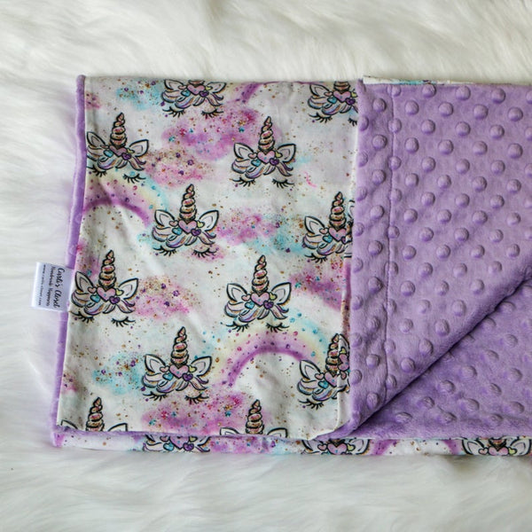 Princess Unicorn Nap Mat Cover