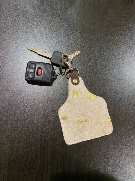 Cattle Tag Keychains