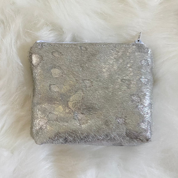 Cowhide Makeup Bags
