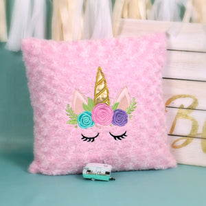 Unicorn Pillow Pink - Carli's Closet