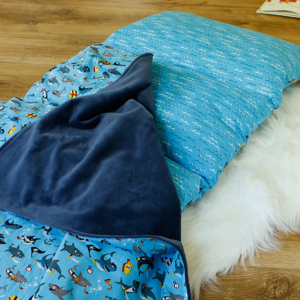 Baby Shark Nap Mat Roll Up