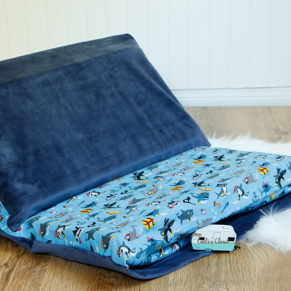 Baby Shark Nap Mat Cover
