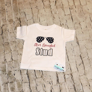 Star Spangled Boys Shirt