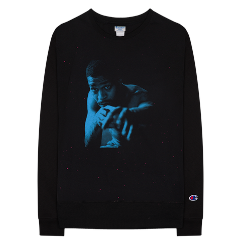 BLUE PHOTO CREWNECK