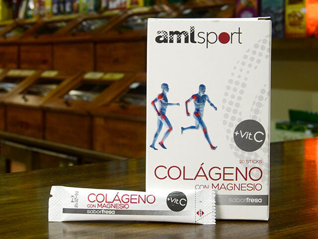 Colágeno con mg y vit C sticks, AML
