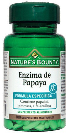 Papaya enzyme, Nature´s Bounty