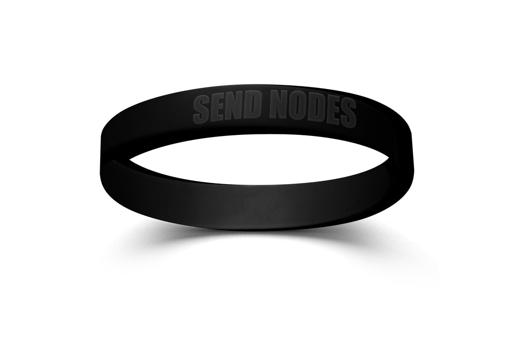 Send Nodes Bracelet Black